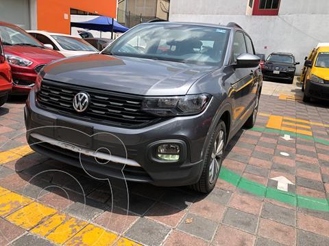 Volkswagen T-Cross Comfortline Aut usado (2020) color Gris financiado en mensualidades(enganche $80,000 mensualidades desde $7,500)