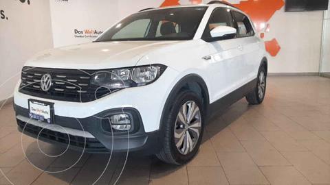 Volkswagen T-Cross Comfortline Aut usado (2020) color Blanco precio $385,500