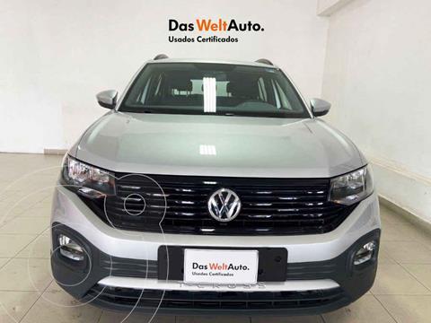 Volkswagen T-Cross Trendline Aut usado (2021) color Plata precio $359,168