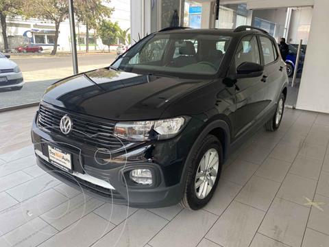 Volkswagen T-Cross Trendline Aut usado (2020) color Negro precio $350,000