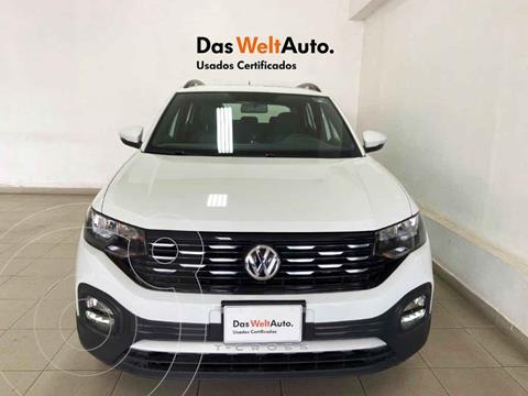 Volkswagen T-Cross Comfortline Aut usado (2020) color Blanco precio $355,730