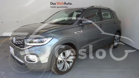 Volkswagen T-Cross HIGHLINE L4 1.6L VP ABS BA TCORR AC TA usado (2020) color Gris Platino precio $430,000