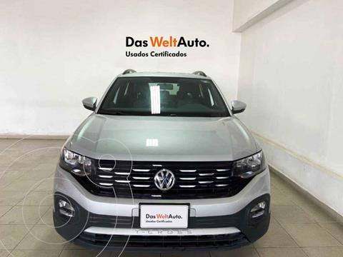 Volkswagen T-Cross Comfortline Aut usado (2020) color Plata precio $355,930
