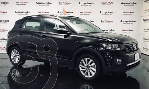 Volkswagen T-Cross Trendline Ed. Lanzamiento Aut usado (2020) color Negro financiado en mensualidades(enganche $92,400 mensualidades desde $7,021)