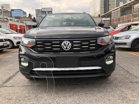 Volkswagen T-Cross Comfortline   usado (2020) color Negro financiado en mensualidades(enganche $96,250 mensualidades desde $5,909)