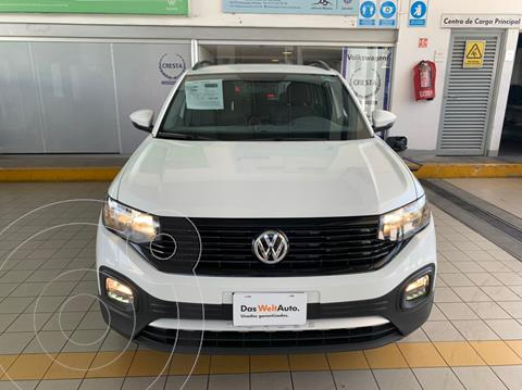 Volkswagen T-Cross Trendline Aut usado (2020) color Blanco precio $339,900