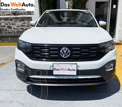 Volkswagen T-Cross Comfortline Aut usado (2020) color Blanco precio $355,200