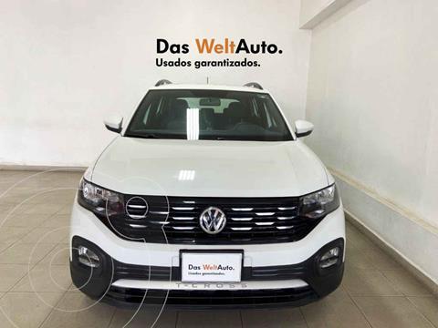 Volkswagen T-Cross Comfortline Aut usado (2020) color Blanco precio $355,094