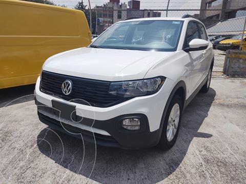 Volkswagen T-Cross TRENDLINE L4 1.6L ABS BA AC TIPTRONI TA usado (2020) color Blanco precio $345,000