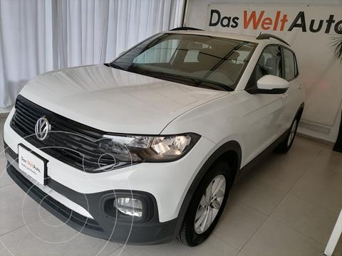 Volkswagen T-Cross TRENDLINE L4 1.6L ABS BA AC TIPTRONI TA usado (2020) color BLANCA precio $339,000