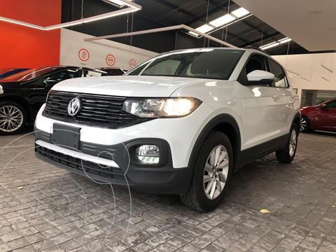 Volkswagen T-Cross Trendline  usado (2020) color Blanco financiado en mensualidades(enganche $87,500 mensualidades desde $6,557)