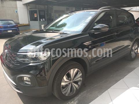 Volkswagen T-Cross Comfortline Aut usado (2020) color Negro precio $362,000