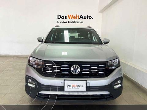 Volkswagen T-Cross Comfortline Aut usado (2020) color Plata precio $345,150