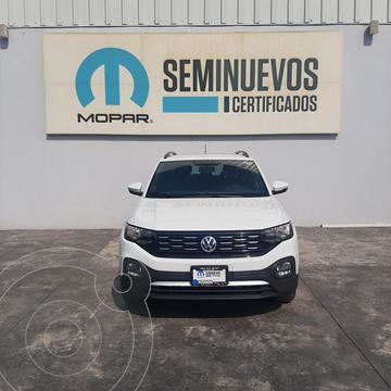 Volkswagen T-Cross Comfortline   usado (2020) color Blanco precio $363,000