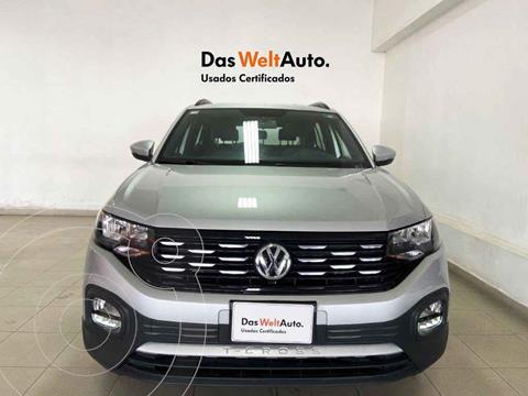 Volkswagen T-Cross Comfortline Aut usado (2020) color Plata precio $357,003
