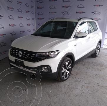 Volkswagen T-Cross COMFORTLINE L4 1.6L TIPTRONIC usado (2021) color Blanco precio $419,500