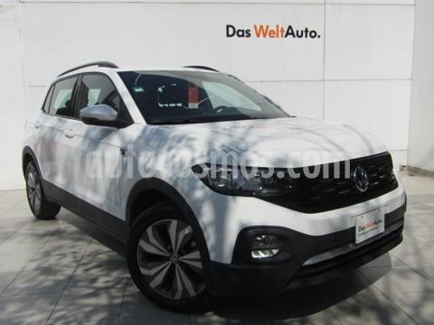 Volkswagen T-Cross Comfortline Aut usado (2020) color Blanco precio $355,000