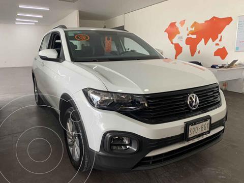 Volkswagen T-Cross Trendline Aut usado (2020) color Blanco precio $335,000