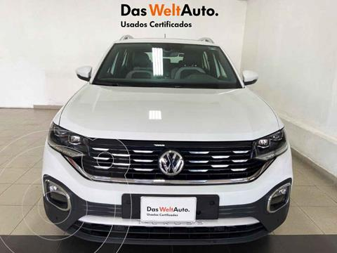 Volkswagen T-Cross Highline Aut  usado (2020) color Blanco precio $409,696