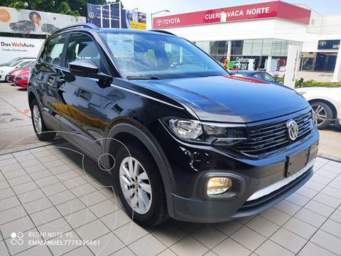 Volkswagen T-Cross Trendline Aut usado (2020) color Negro precio $334,900