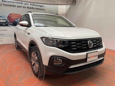Volkswagen T-Cross Comfortline Aut usado (2020) color Blanco precio $360,000