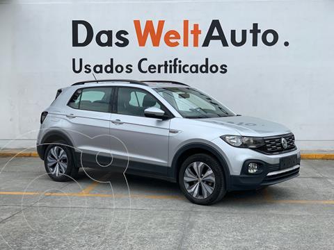 Volkswagen T-Cross Comfortline Aut usado (2020) color Plata Reflex precio $387,000