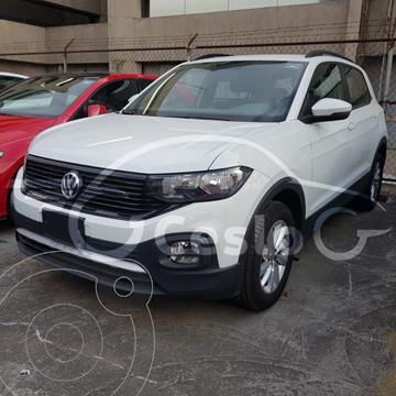 Volkswagen T-Cross TRENDLINE L4 1.6L ABS BA AC TIPTRONI TA usado (2020) color Blanco precio $340,000