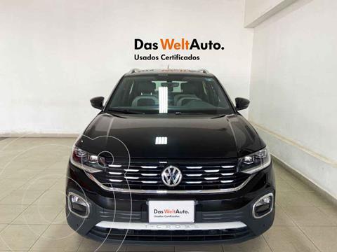 Volkswagen T-Cross Highline Aut  usado (2020) color Negro precio $391,079