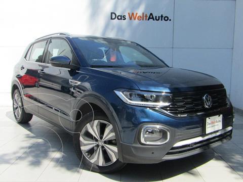 Volkswagen T-Cross Highline Aut  usado (2020) color Azul precio $398,000