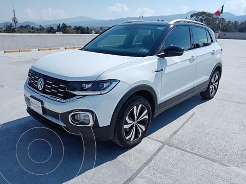Volkswagen T-Cross Highline  usado (2020) color Blanco precio $415,000