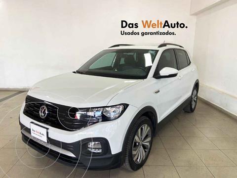 Volkswagen T-Cross Comfortline Aut usado (2020) color Blanco precio $354,213