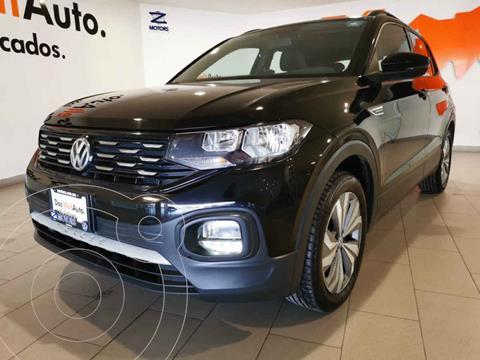 Volkswagen T-Cross Comfortline Aut usado (2020) color Negro precio $385,500