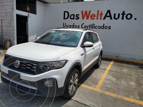 Volkswagen T-Cross COMFORTLINE L4 1.6L ABS BA AC TIPTRO TA usado (2020) color Blanco precio $385,000
