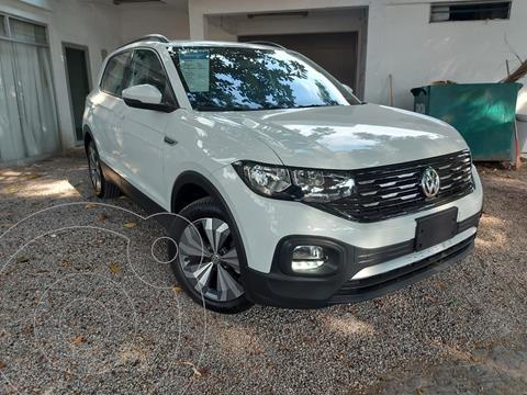 Volkswagen T-Cross Comfortline Aut usado (2020) color Blanco precio $395,000