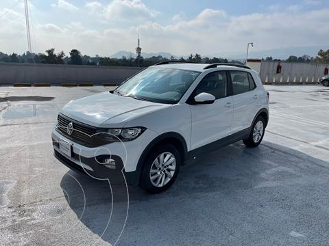 Volkswagen T-Cross Trendline Ed. Lanzamiento usado (2020) color Blanco precio $350,000