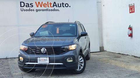 Volkswagen T-Cross Trendline  usado (2020) color Gris Oscuro precio $335,000
