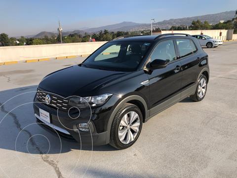 Volkswagen T-Cross Comfortline   usado (2020) color Negro precio $380,000