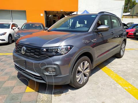 Volkswagen T-Cross COMFORTLINE L4 1.6L ABS BA AC TIPTRO TA usado (2020) color Gris Platino precio $379,000