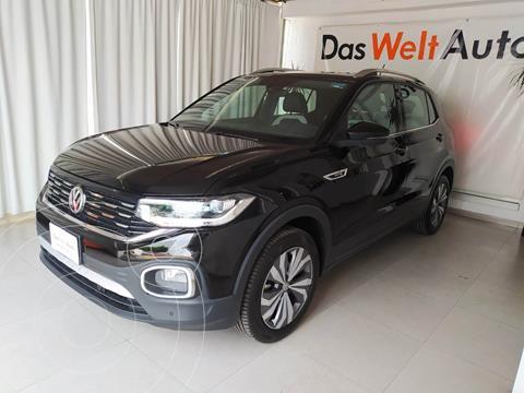 Volkswagen T-Cross HIGHLINE L4 1.6L VP ABS BA TCORR AC TIP usado (2020) color Negro precio $399,000