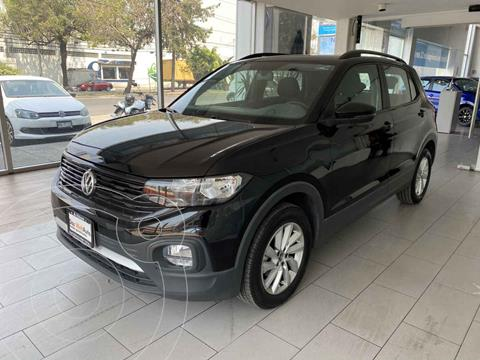 Volkswagen T-Cross Trendline Aut usado (2020) color Negro precio $340,000