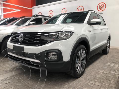 Volkswagen T-Cross Comfortline   usado (2020) color Blanco financiado en mensualidades(enganche $95,000 mensualidades desde $7,119)