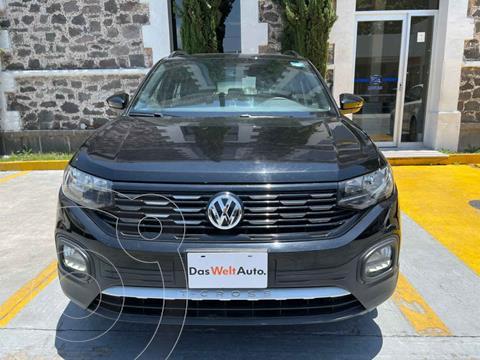 Volkswagen T-Cross Comfortline Aut usado (2020) color Negro precio $363,900