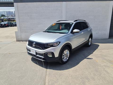 Volkswagen T-Cross Trendline Aut usado (2020) color Plata precio $345,000