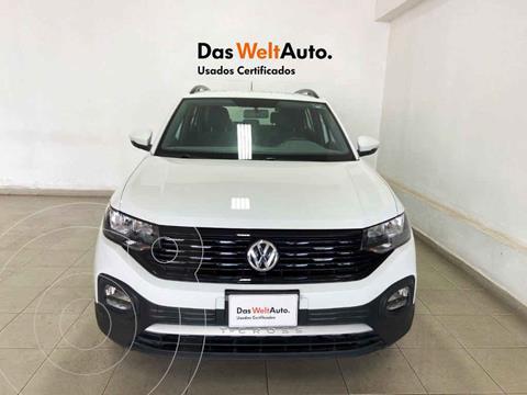 Volkswagen T-Cross Trendline Aut usado (2020) color Blanco precio $320,025