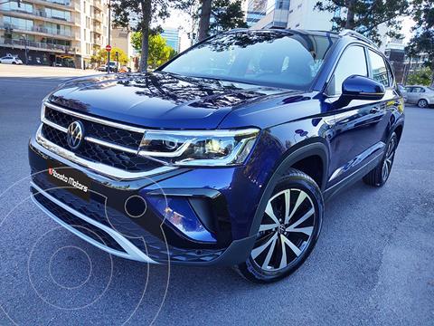 Volkswagen Taos Highline Aut usado (2021) color Azul precio $6.990.000