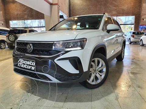 Volkswagen Taos Comfortline Aut usado (2021) color Blanco financiado en cuotas(anticipo $2.625.000)