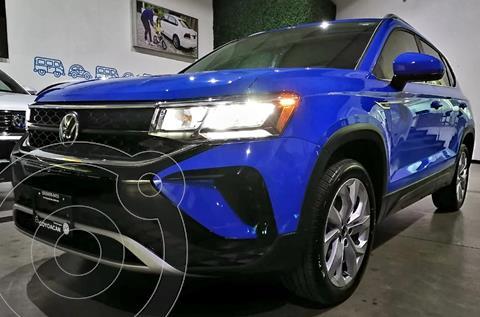 Volkswagen Taos Comfortline nuevo color Azul financiado en mensualidades(enganche $13,800 mensualidades desde $13,800)