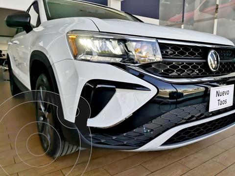 Volkswagen Taos Trendline nuevo color Blanco financiado en mensualidades(enganche $12,300 mensualidades desde $12,300)