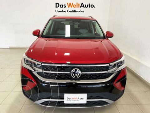 Volkswagen Taos Highline usado (2021) color Rojo precio $555,425