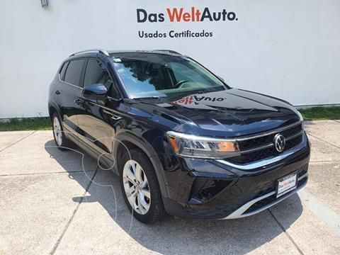 Volkswagen Taos Comfortline usado (2021) color Negro Profundo precio $489,900